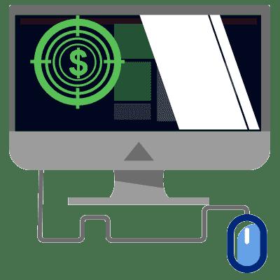 WAgence référencement local agence de référencement icone menu PPC